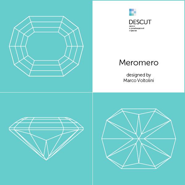 """Схема огранки """"Meromero"""" by Marco Voltolini"""