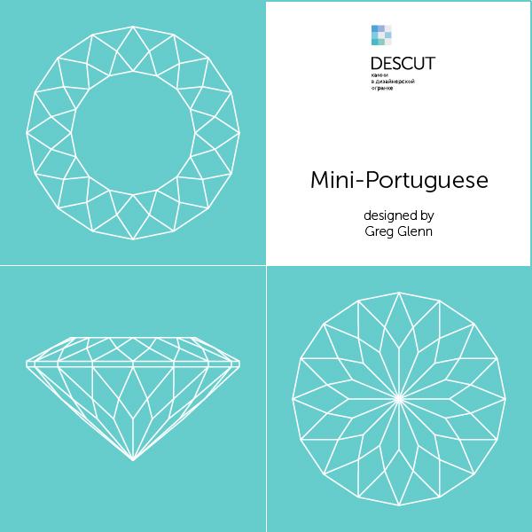 """Схема огранки """"Mini-Portuguese"""" by Greg Glenn"""