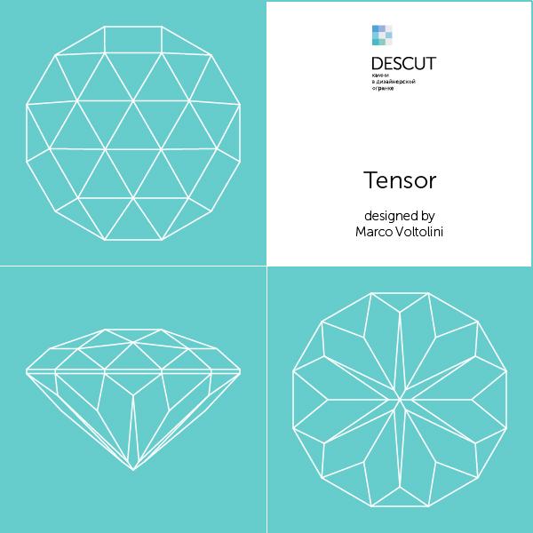 """Схема огранки """"Tensor"""" by Marco Voltolini"""