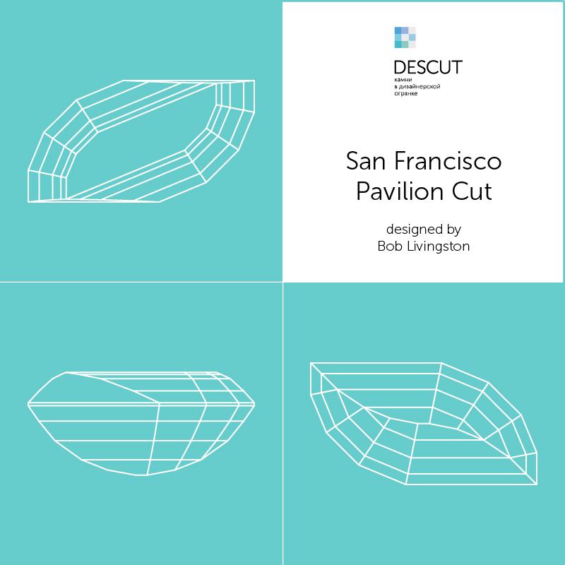 "Схема огранки ""San Francisco Pavilion Cut"" by Bob Livingston"