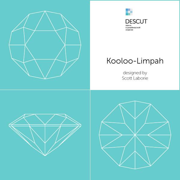 """Схема огранки """"Kooloo-Limpah"""" by Scott Laborie"""